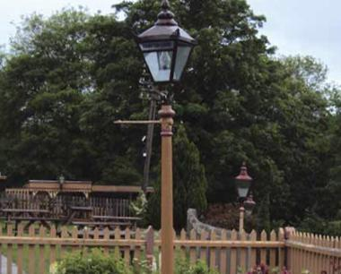 replica lamp posts