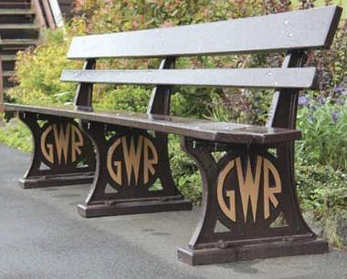 heritage benches GWR