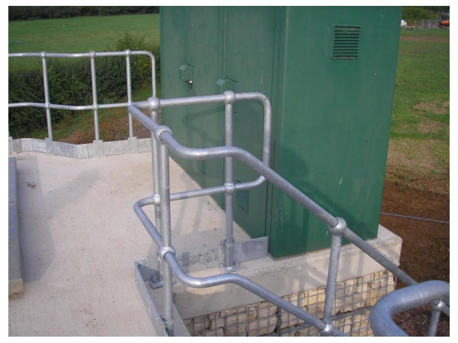Industrial Steel Handrails Steelway
